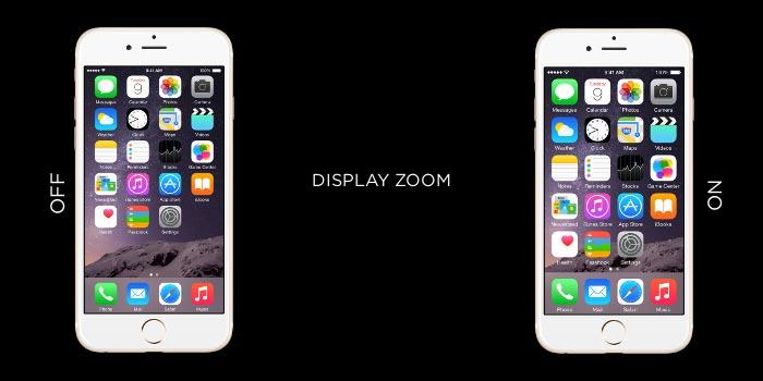 شاشة هاتف iPhone لاتدور-تقريب عرض iphone
