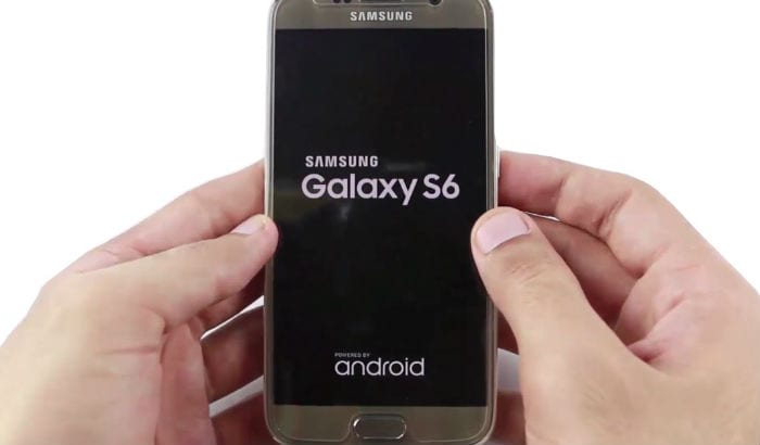 samsung galaxy s6 won't turn on-boot s6