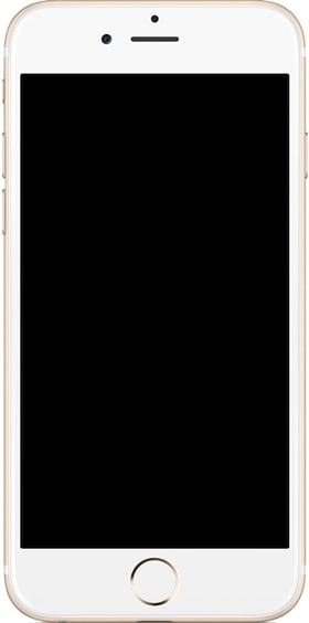 fix iphone black screen