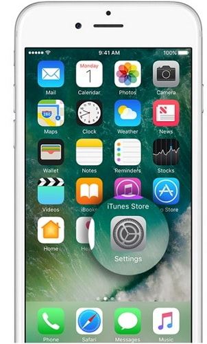 update iphone via settings