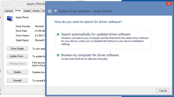 update iphone to fix iphone not syncing