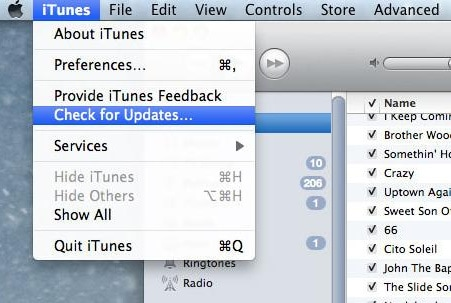 update itunes to fix iphone error 1