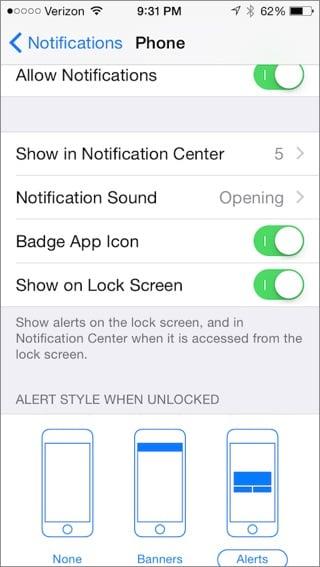 Benachrichtigungen funktionieren nicht auf dem iPhone - Benachrichtigung auf dem iPhone zulassen