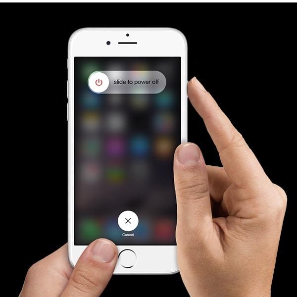 Benachrichtigungen funktionieren nicht auf dem iPhone. Starten Sie das iPhone neu, um Benachrichtigungsprobleme zu beheben