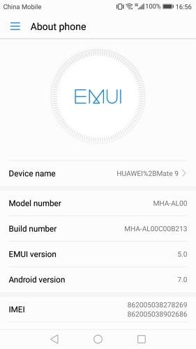 enable usb debugging on huawei mate 7/8 - step 2
