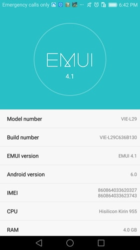 enable usb debugging on huawei p7 p8 p9 - step 2