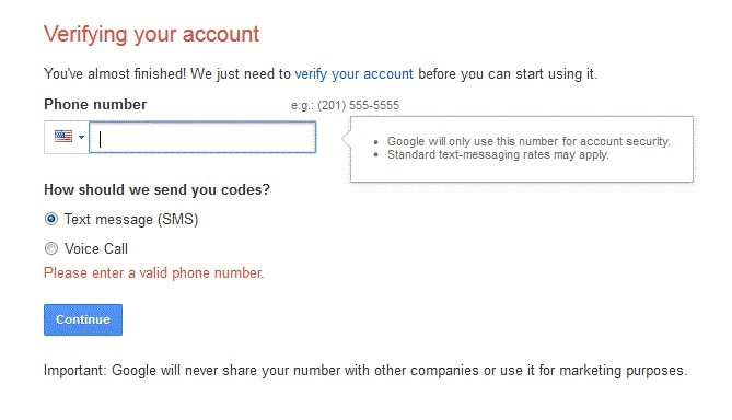 bypass gmail phone verification-verify your account