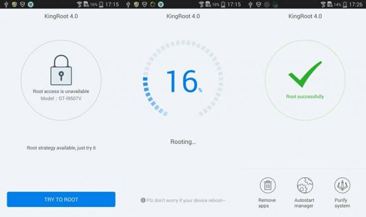 root samsung j5 with kingroot