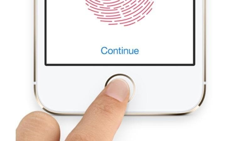touch id falha ao escanear devidamente o touch id no iphone