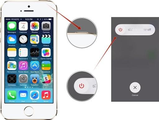 iphone won t backup to icloud-restart iphone
