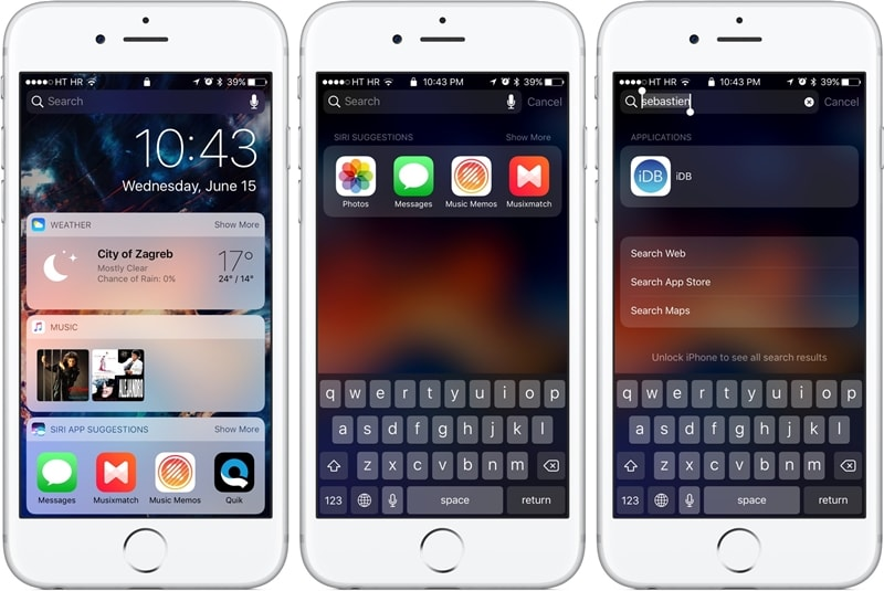 iphone lock screen with notifications-earch for anything