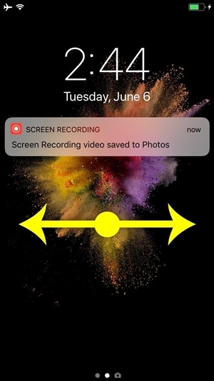 iphone lock screen with notifications-ios 11 notification new feature