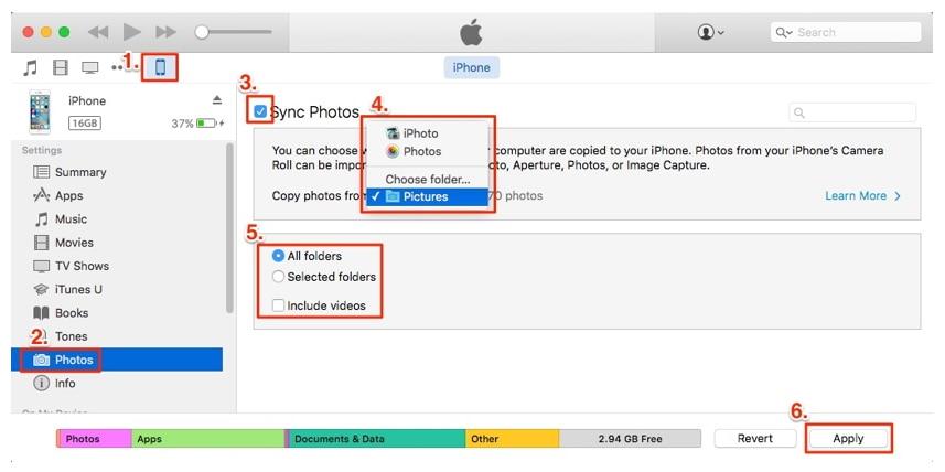 Come Trasferire le Foto da iPhone a iPhone?