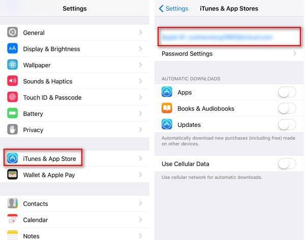 Transferir aplicaciones al iPhone 8