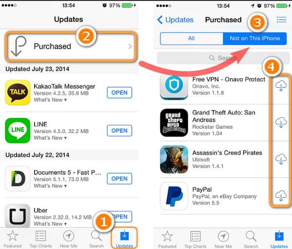 Cómo transferir aplicaciones a iPhone 8