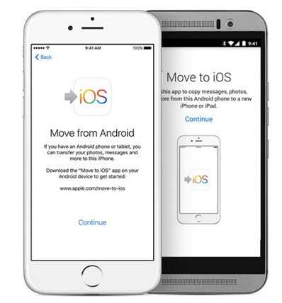 usa la aplicación Move to iOS para sincronizar los contactos de Galaxy con el iPhone