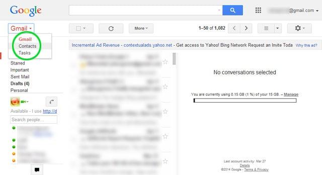 transferir contactos al iphone x con gmail