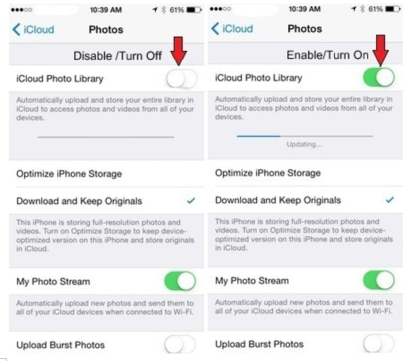 How to transfer photos from iPhone to iPhone with iCloud-2