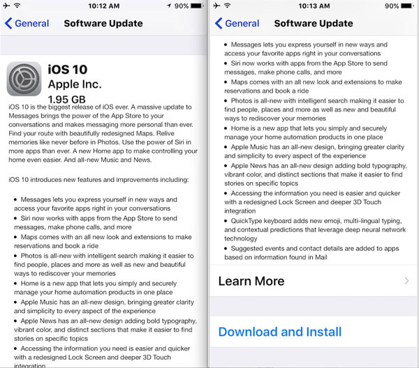 Remove Spyware from iPhone-Update your iOS