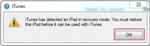 Enter iPad DFU Mode-restore the iPad