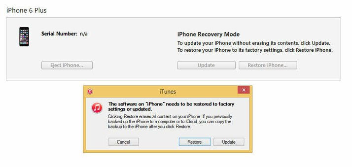 Restore your iPad with iTunes