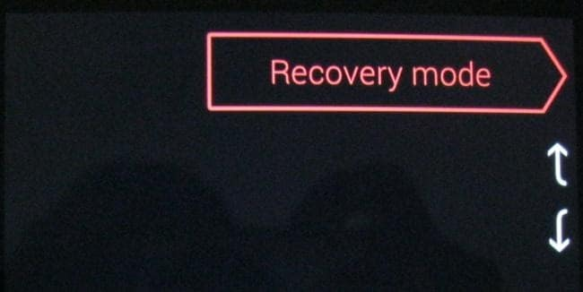 get into a locked phone-enter the recovery mode