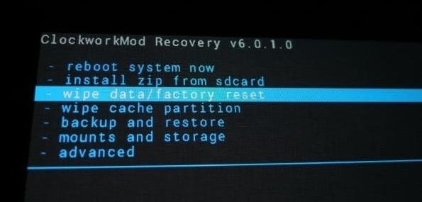 get into a locked phone-restart the phone