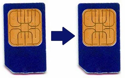duplicate SIM card