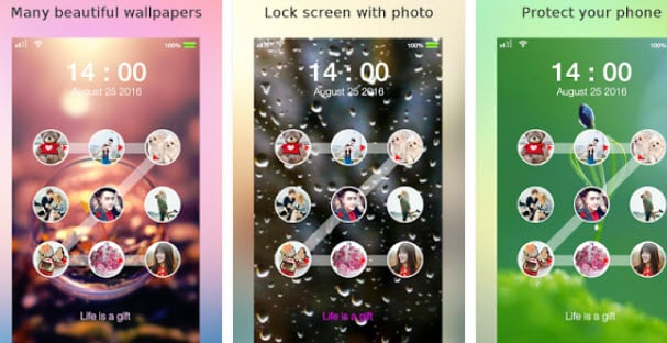top Photo Keypad Lock Screen Apps-Lock Screen Photo Pattern
