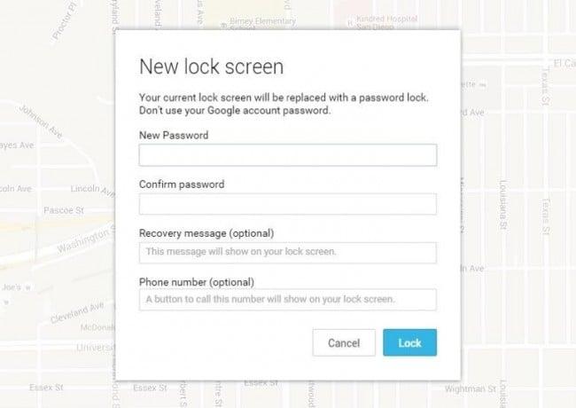 enter temporary password