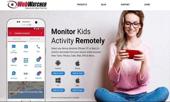 Skype hacker-WebWatcher