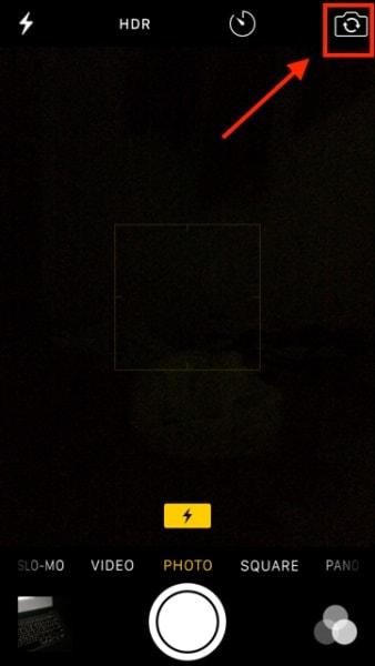 iPhone Kamera wechseln