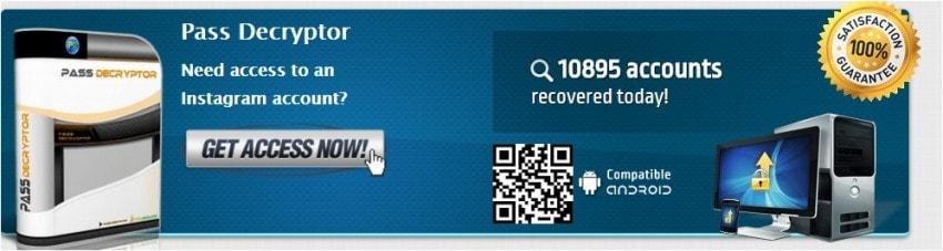 Instagram Password Crackers-social password finder