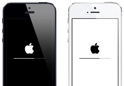 iPhone bleibt im Ladebildschirm hängen