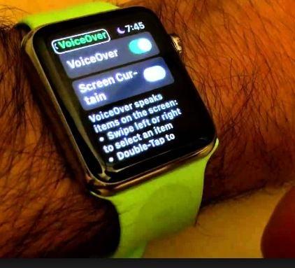 تعطيل صوت ساعة apple