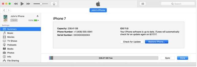 restore iphone from old itunes backup
