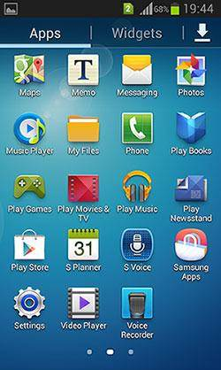 Transfer Apps to Your New Phone-Samsung Galaxy Apps
