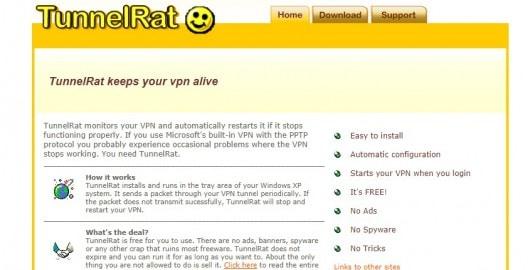 vpn monitoring software - TunnelRat