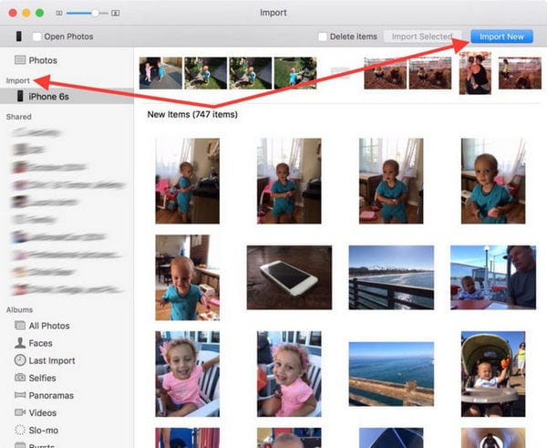 get videos off iphone to mac using iPhotos