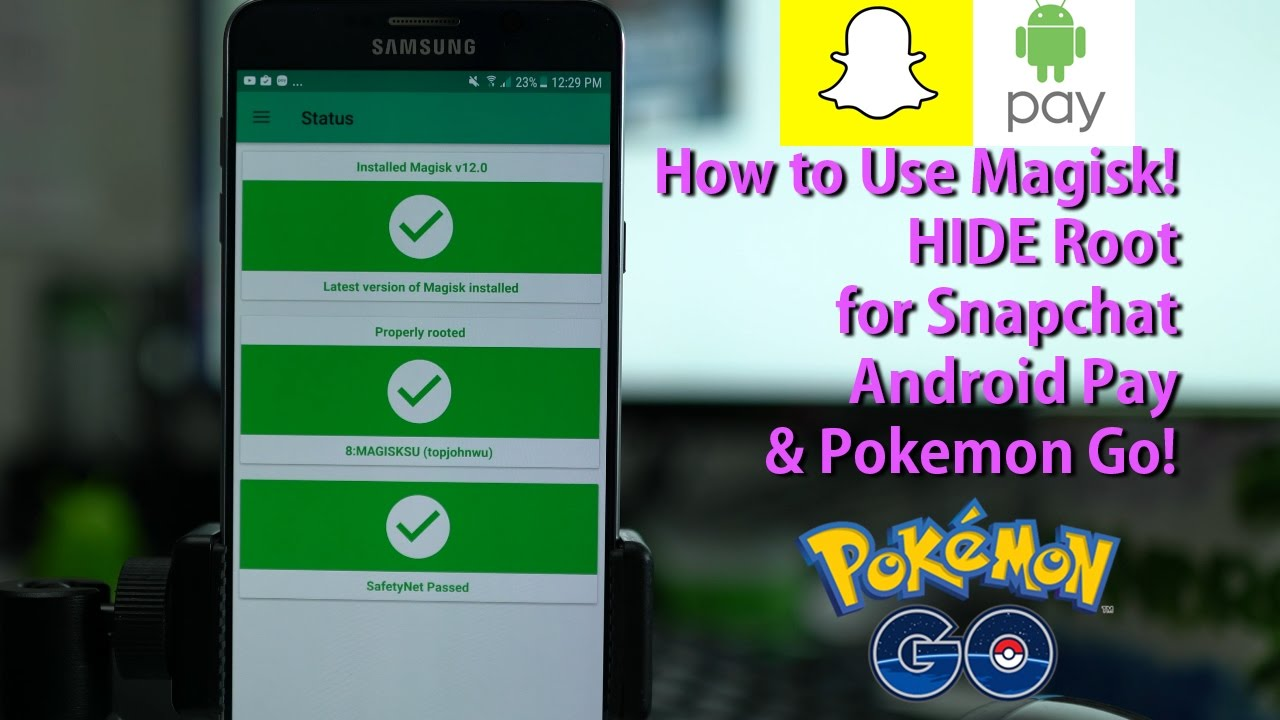 Hide Root From Apps Like Snapchat Pokemon Go Android Pay Dr Fone
