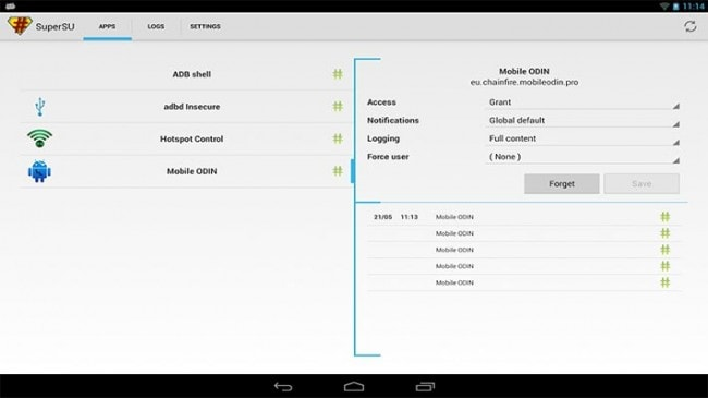 Top Android Root App: SuperSU