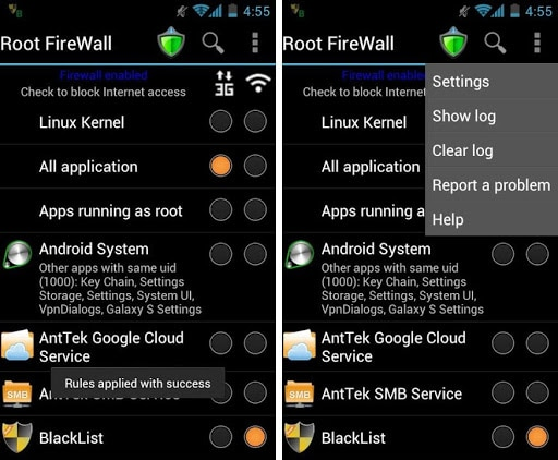 Top Android Root App: Root Firewall Pro