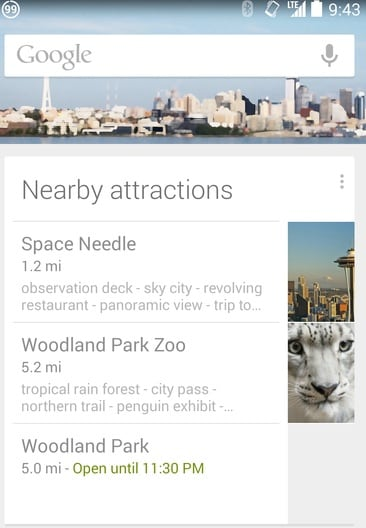 google now tour guide