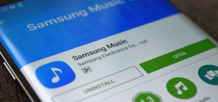 Musik-App für S9/S20 - Musik von Samsung