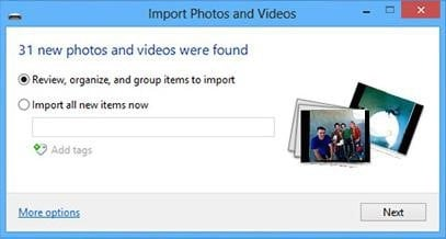 transfer photos from iphone to windows 8