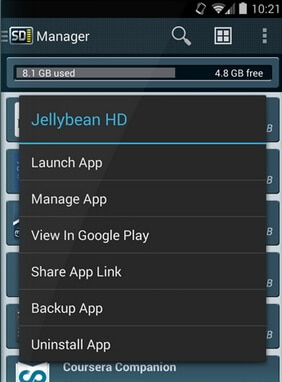app manager for android