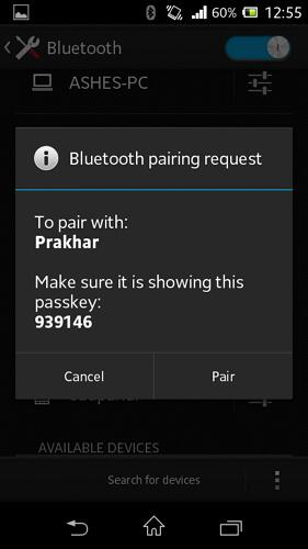 android bluetooth management