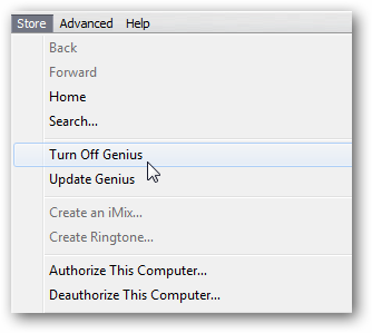 speed up your iTunes- Disable Genius