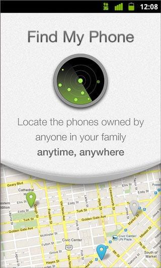 find my iPhone app for android