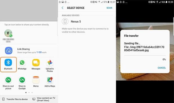 نقل الموسيقى من android إلى android – قم باستخدام الـ Bluetooth